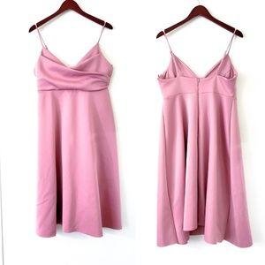 ASOS Blush Pink Formal Dress Plus Size 14 Flowy